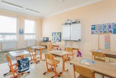 Moderně vybavené učebny